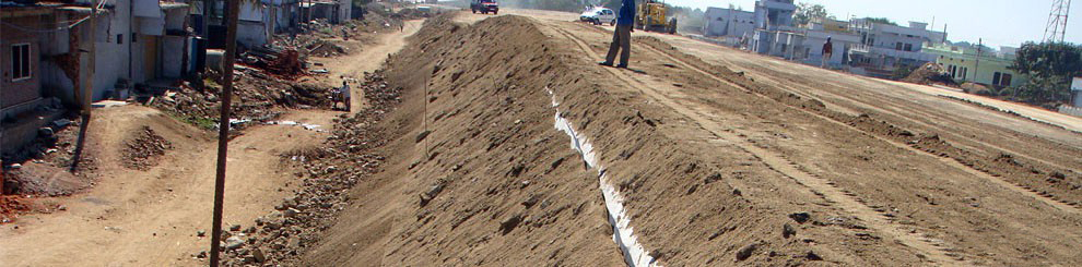 Construction of Earth Embankment Using PEC for NAGPUR - HYDERABAD SECTION OF NH 7 IN THE STATE OF ANDHRA PRADESH for KNR construction